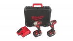 Image of Milwaukee M18 Cordless Twin Pack