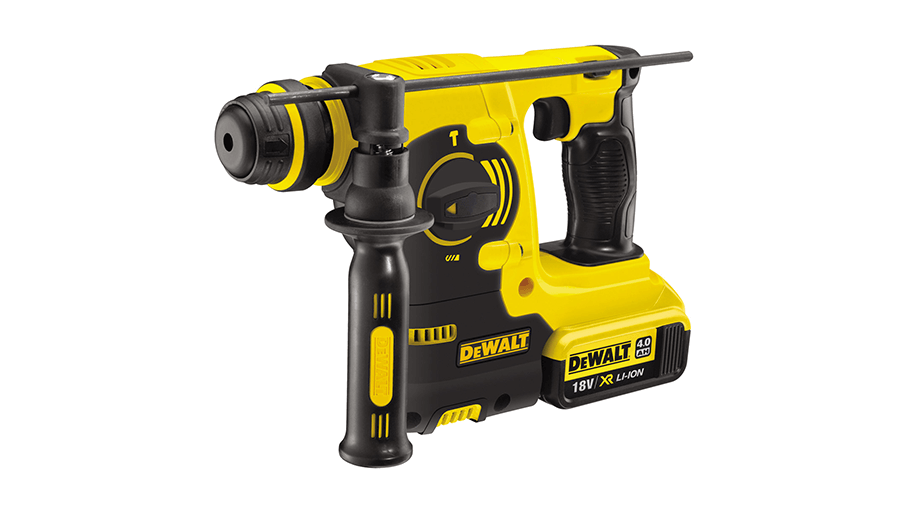 image of DeWalt DCH253M2 18V XR Lithium-Ion SDS Plus Rotary Hammer Drill
