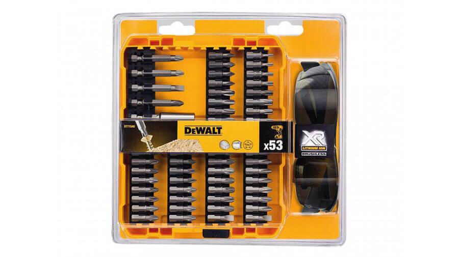 image of DeWalt High Performance Brushless Screwdriving Bit Set 53 Piece