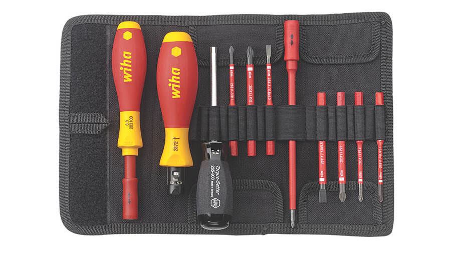 image of Wiha  VDE Torque Screwdriver Set 11 Pieces