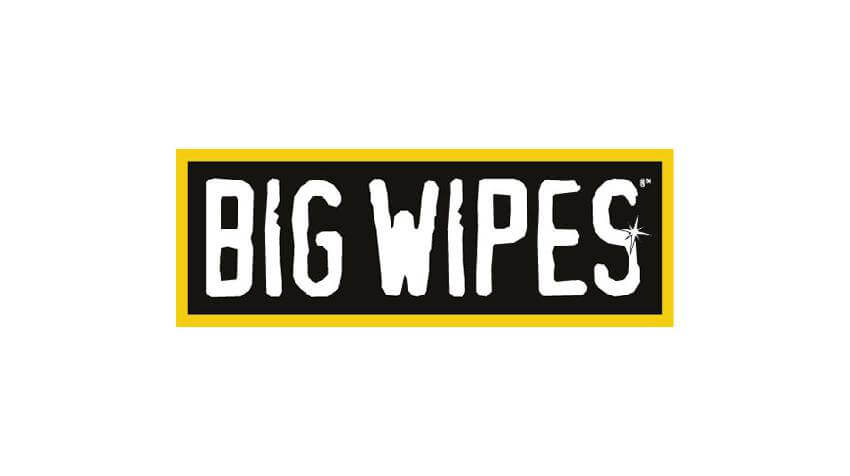 Pack of 8 Big Wipes Industrial Antibacterial Scrub Heavy Duty Hand Cleaning Wipes Towelettes