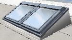 Image of Keylite Combi Flat Roof System