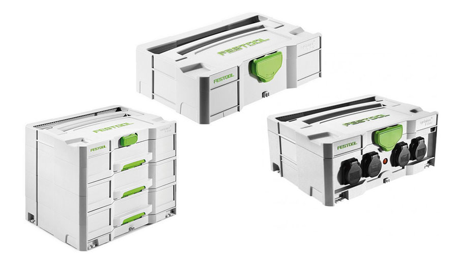 image of Festool SYSTAINER Range