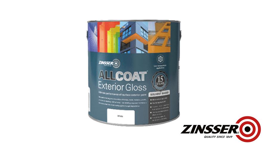 image of Zinsser AllCoat® Exterior Gloss (Solvent Based)