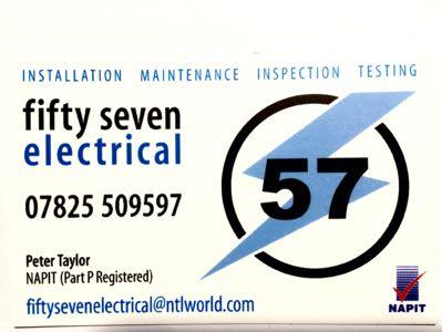 57 Electrical Verified Logo