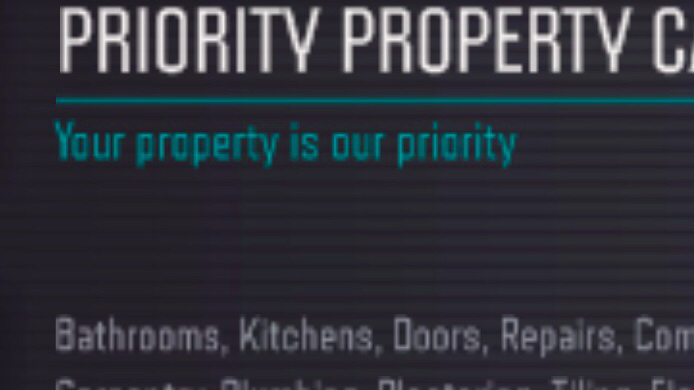 Priority Property Care Verified Logo