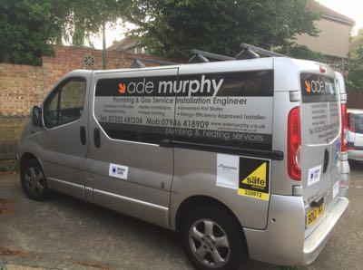 Ade Murphy Plumbing & Heating Verified Logo