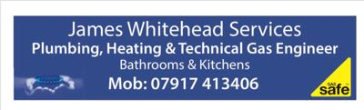 James whitehead plumbing and heating Verified Logo