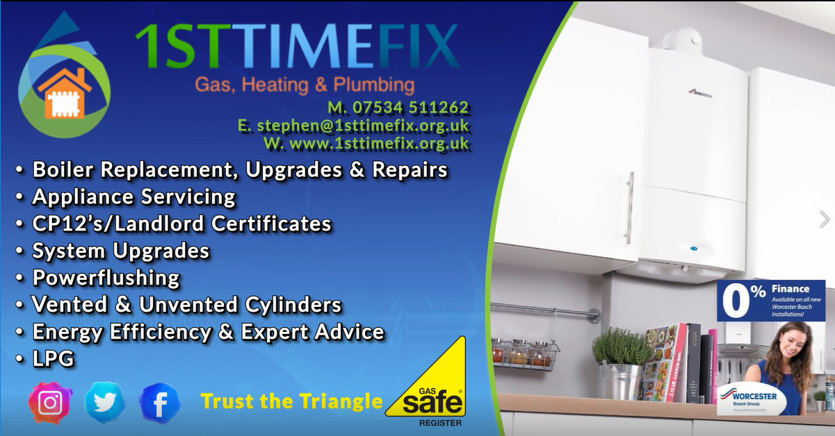 1st Home Fix Gas, Plumbing And Heating Ltd Verified Logo