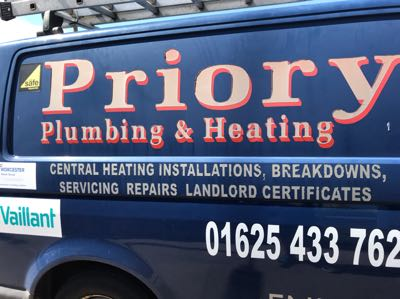 Priory Plumbing and Heating Verified Logo