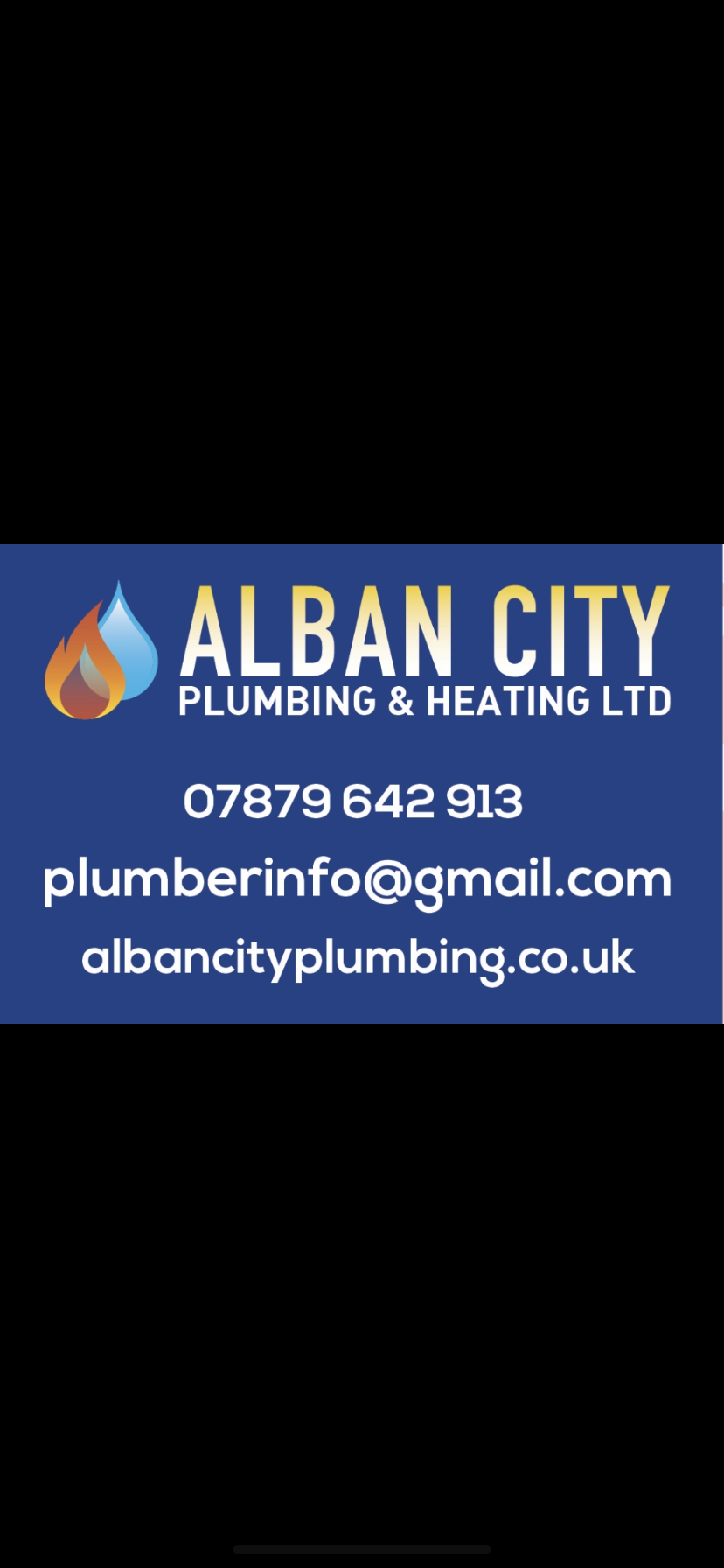Alban City Plumbing Verified Logo
