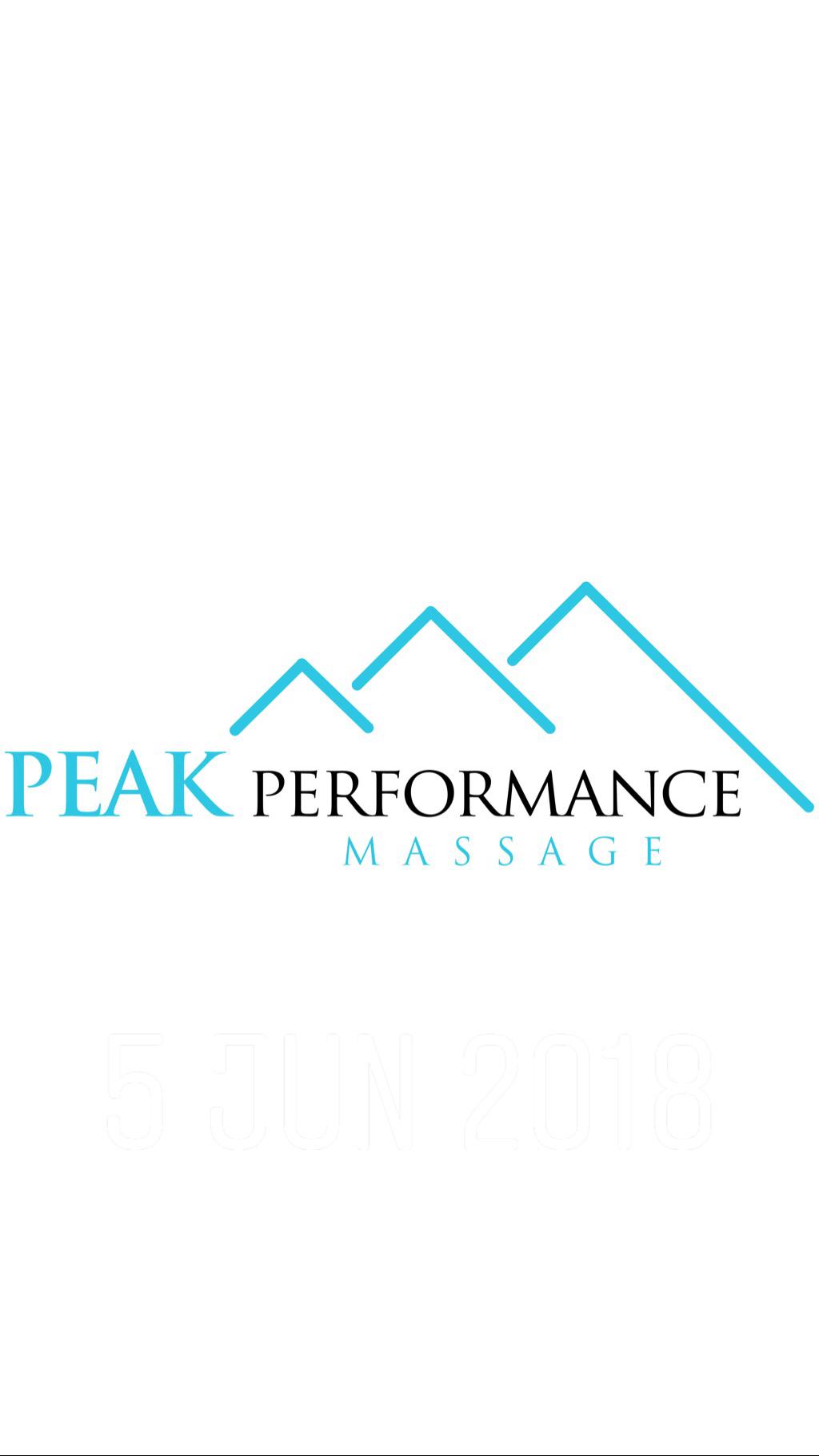 Peak Performance Massage Verified Logo