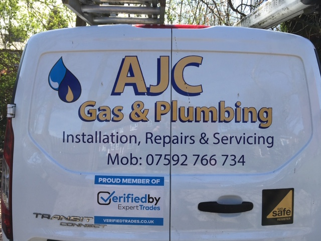AJC Gas & Plumbing Verified Logo