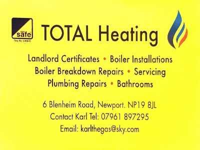TOTAL Heating Verified Logo