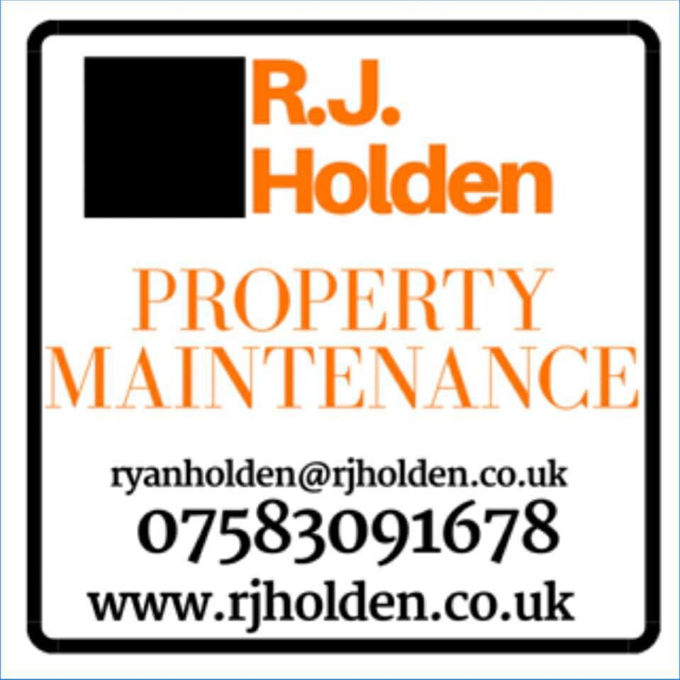 R.J Holden Property Maintenance Verified Logo