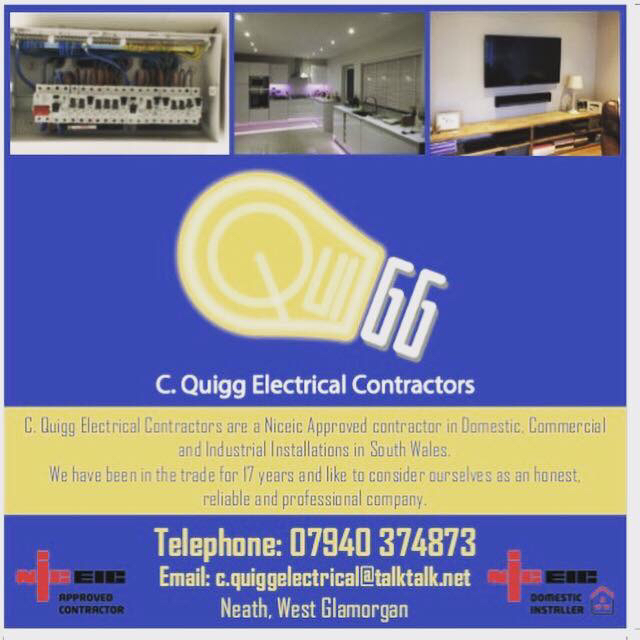 C.Quigg Electrical Contractors Verified Logo