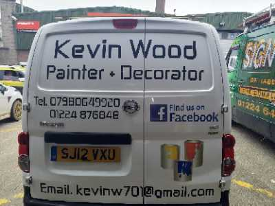 Kevin Wood Painter and Decorator Verified Logo