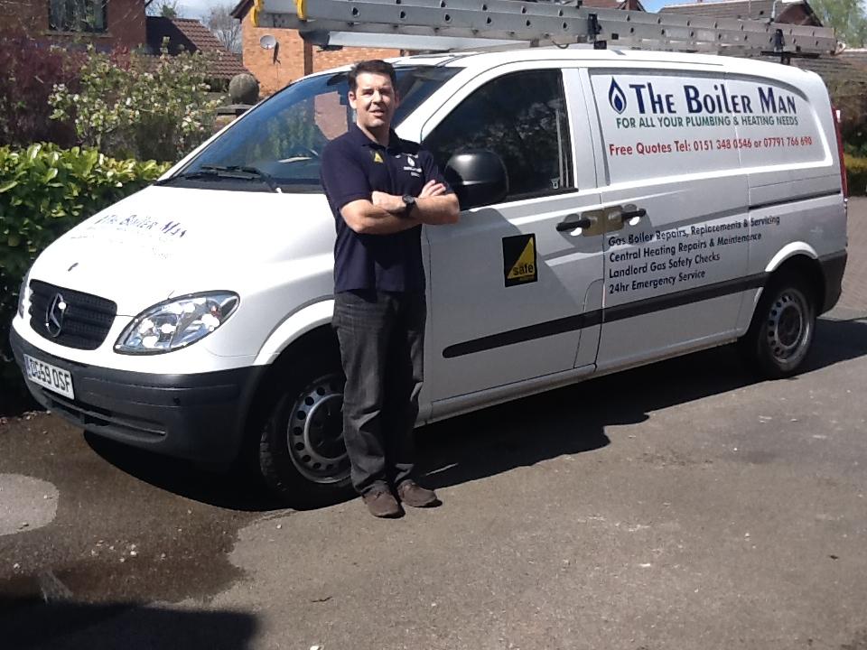 The Boiler Man Verified Logo