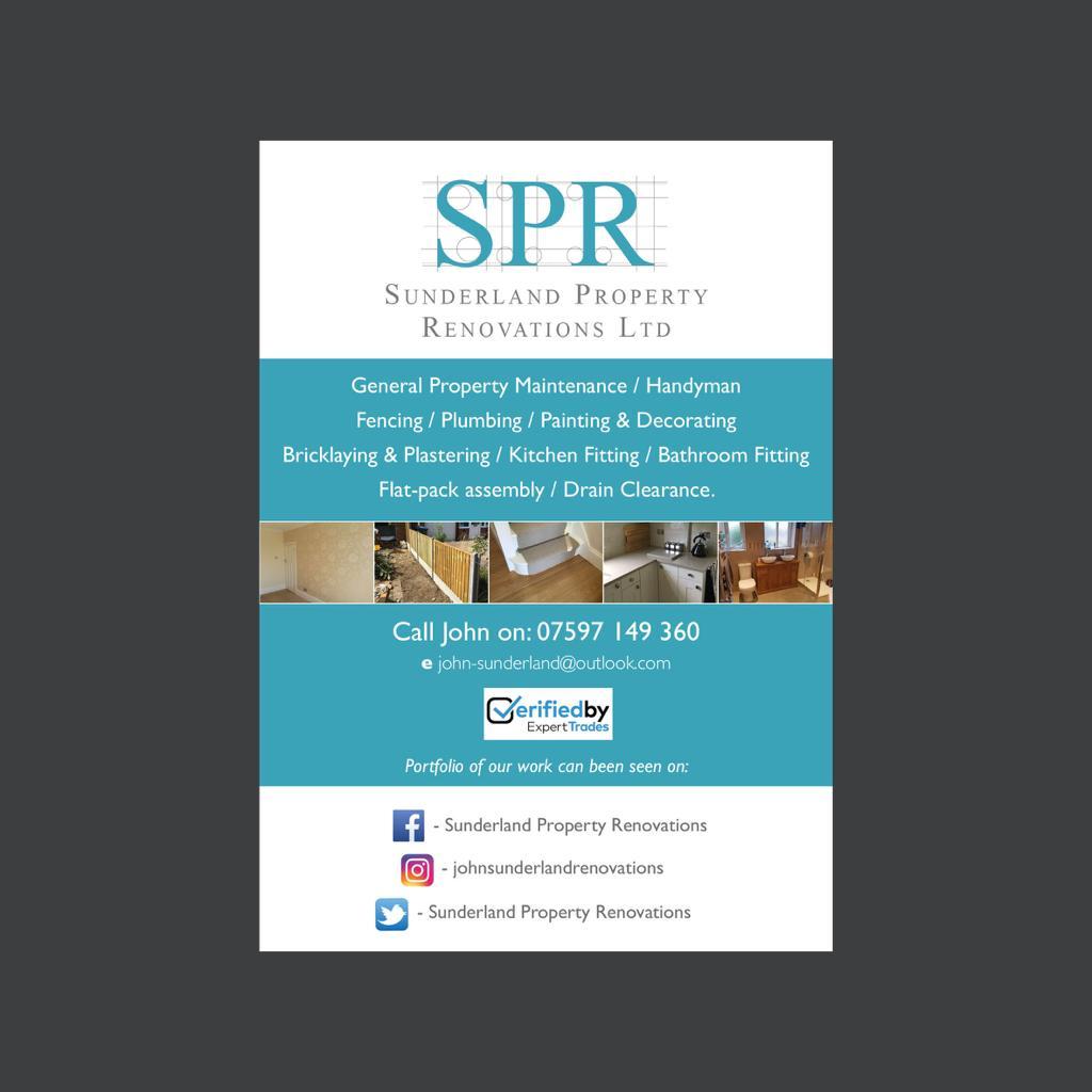 Sunderland Property Renovations Ltd Verified Logo