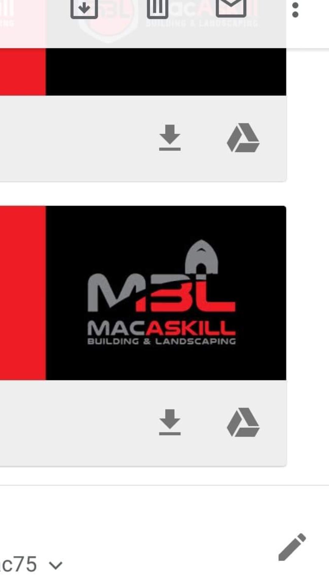 MacAskill Building & Landscaping Verified Logo