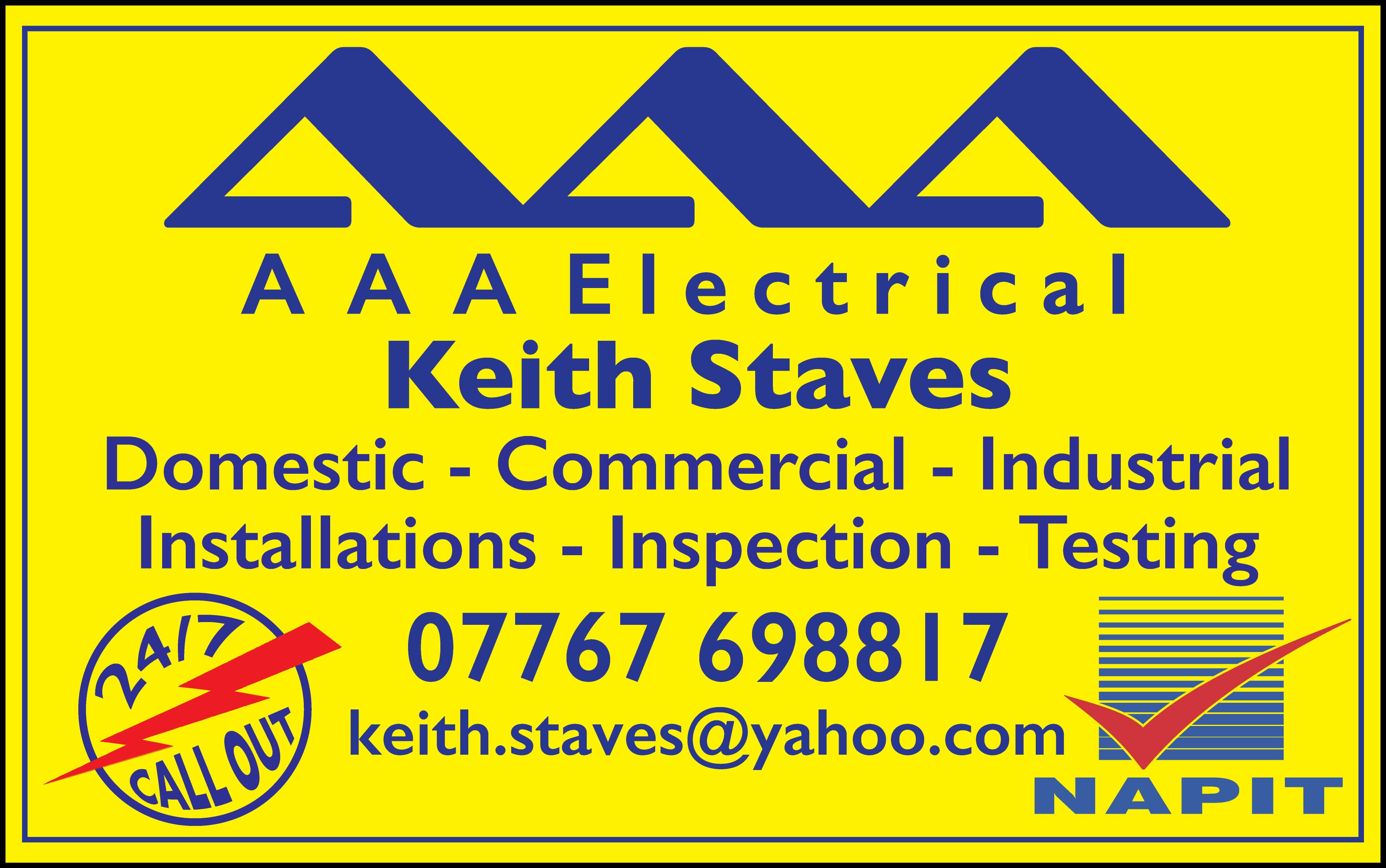 AAA Electrical Verified Logo