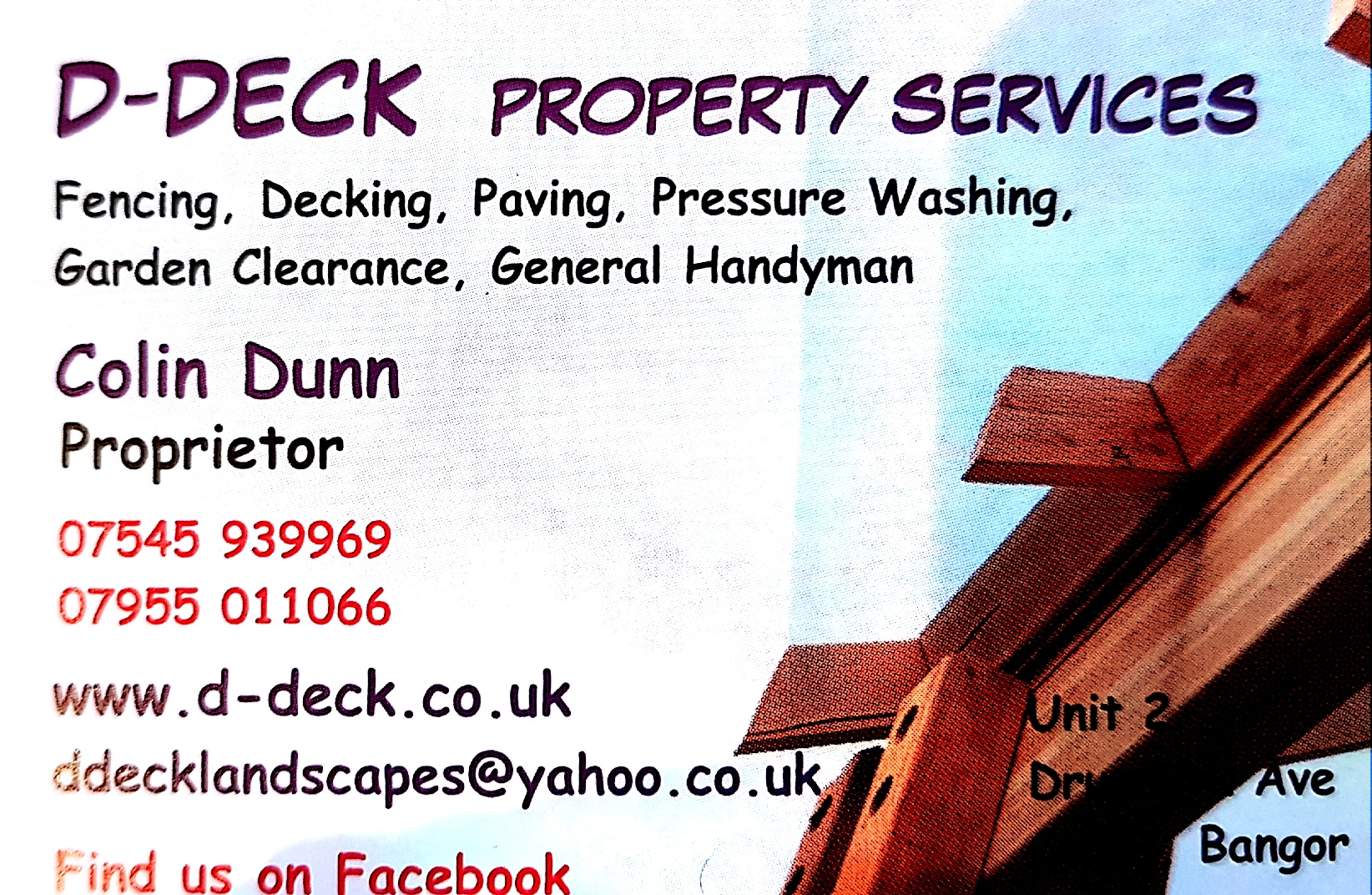 D-Deck Property Services Verified Logo