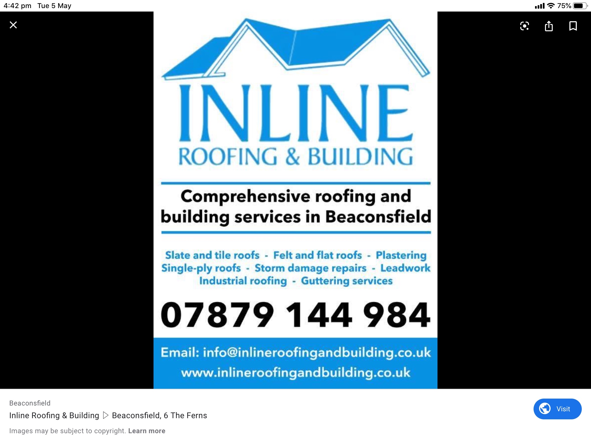 Inline roofing and building Verified Logo