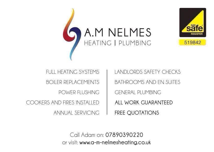 A M Nelmes Heating & Plumbing Verified Logo