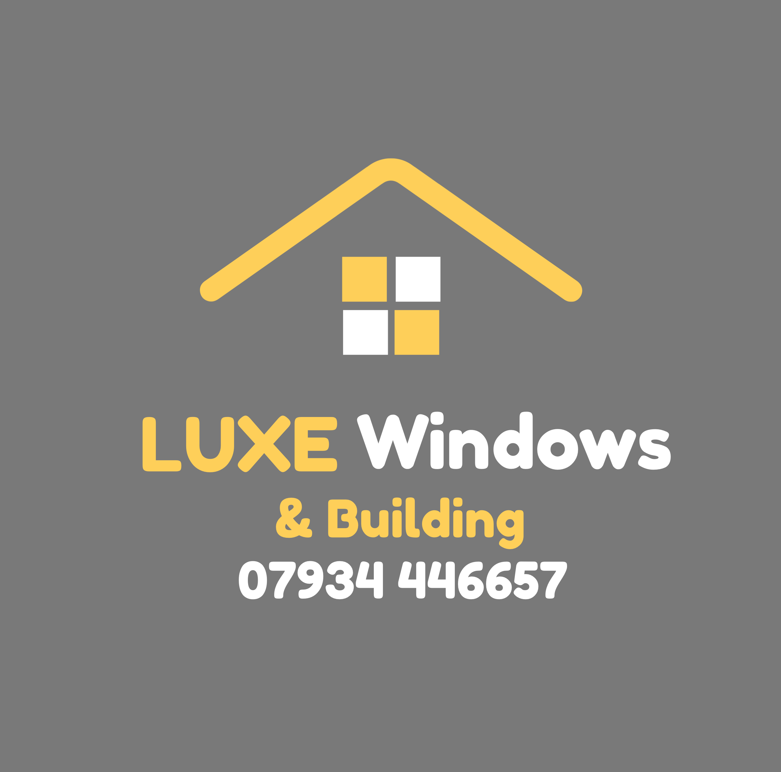 LUXE Windows & Building Verified Logo