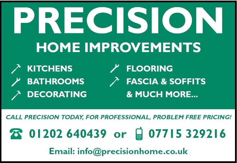 Precision Home Improvements Verified Logo