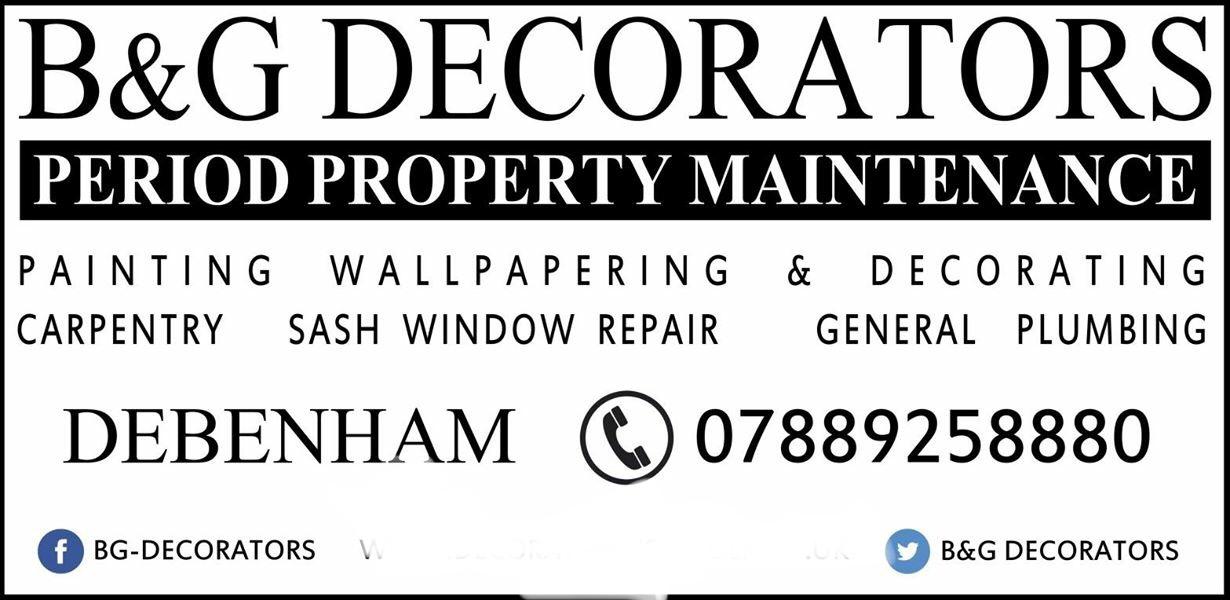 Black & Gold Decorators Verified Logo